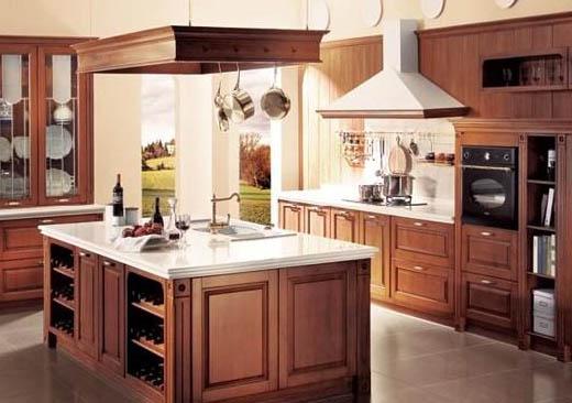 厨房实木整装案例